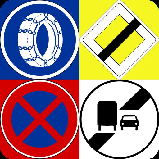 Panneaux routiers: quiz sur le Code de la route Icon