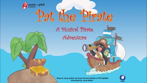 Susie Phil's Pat the Pirate
