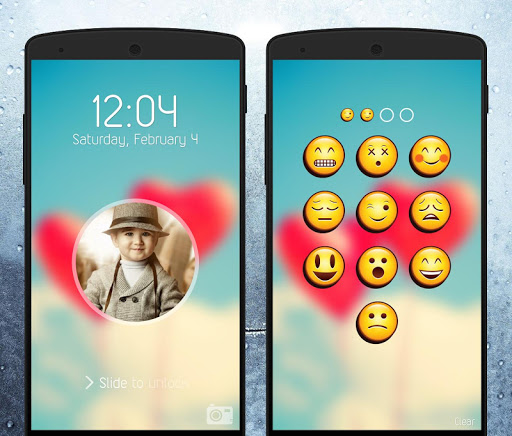 Emoji Lock Screen 2.0 screenshots 5
