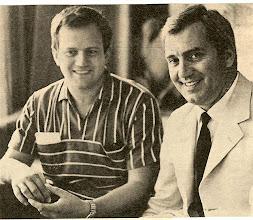 Photo: Otto Schenk und Ettore Bastianini - die beiden wurden manchmal verwechselt! Foto: Sammlung Fritz Krammer