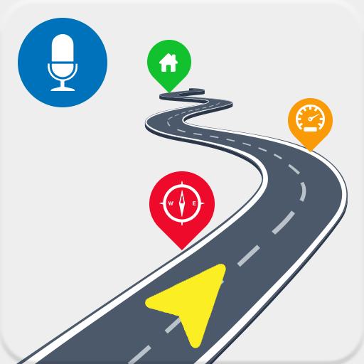 Voice GPS Navigator, GPS Navigation Map Locater