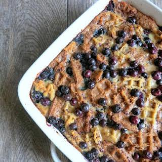 Blueberry Breakfast Casserole.