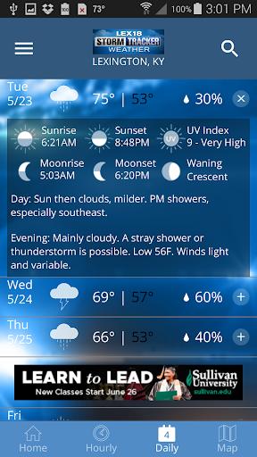 Storm Tracker Weather screenshot