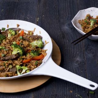 Asian BBQ Fried Rice.