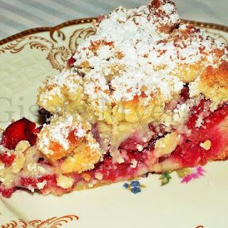 Mini Cherry Streusel Cake – A German