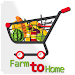 Farm to Home - Online Shopping App Icon