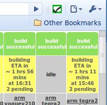 Chrome OS Tree Status