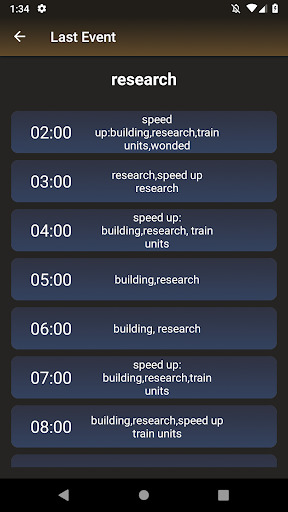 Code Triche Last Event APK MOD (Astuce) screenshots 1