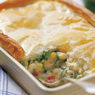 Chicken and Vegetable Pot Pie.