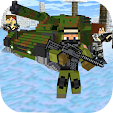 Cube Wars Battlefield Survival icon