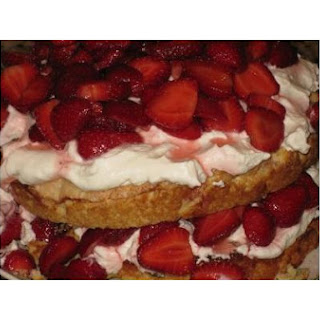 Divine Strawberry Shortcake With Marsala