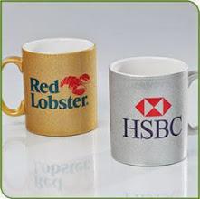 Photo: 11 oz. Gold & Silver Mug(Sublimation type)