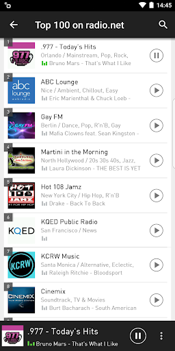 radio.net - Tune in to more than 30,000 stations screenshot 2