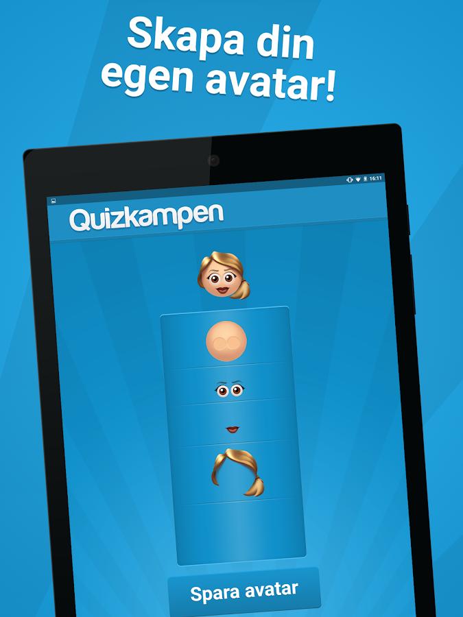 Quizkampen- screenshot