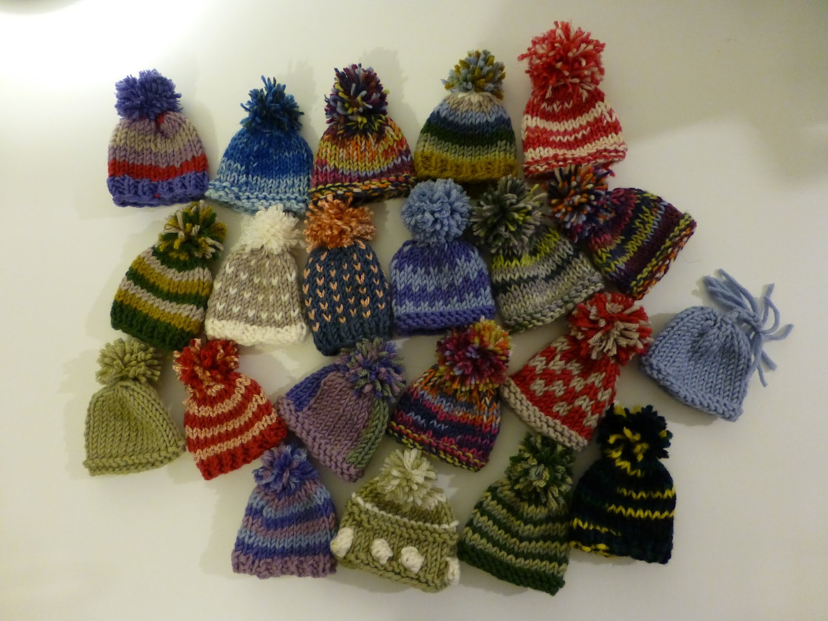 Charity Hats for the Big Knit