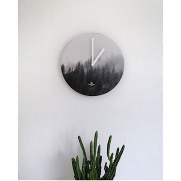 《Wall Clock from Korea - Misty Forest 韓國進口掛牆鐘 》