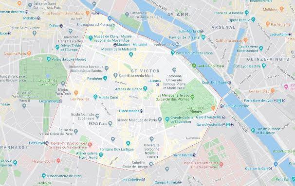 5º arrondissement du Panthéon