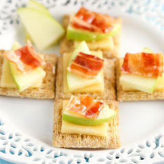 Smoked Gouda, Apple, Bacon, and Honey Bites - Apbagoudacuit