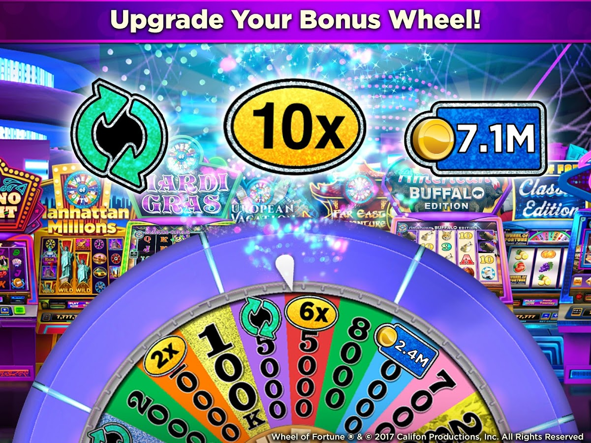 free wheel of fortune casino slot games