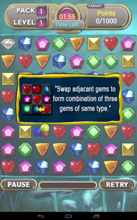 Jewel Magic Challenge- screenshot