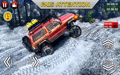 Code Triche hors route xtreme 4X4 se rallier courses chauffeur APK MOD screenshots 2