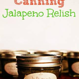 Jalapeno Relish.