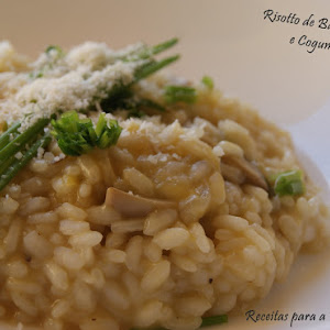 Sweet Potato Risotto with Mushrooms