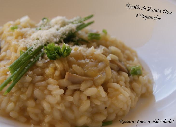 Sweet Potato Risotto with Mushrooms Recipe