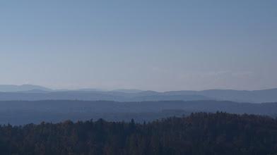 Photo: W oddali widoczny wał fenowy nad Tatrami