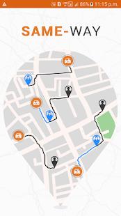 Same-Way Carpooling Ridesharing - náhled