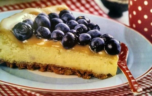 Saucy Blueberry Cheesecake Recipe