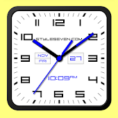 Square Clock Android-7 PRO