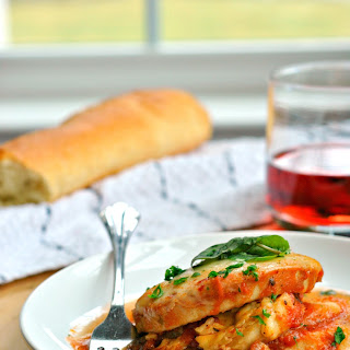 Eggplant Parmesan With White Sauce Recipes