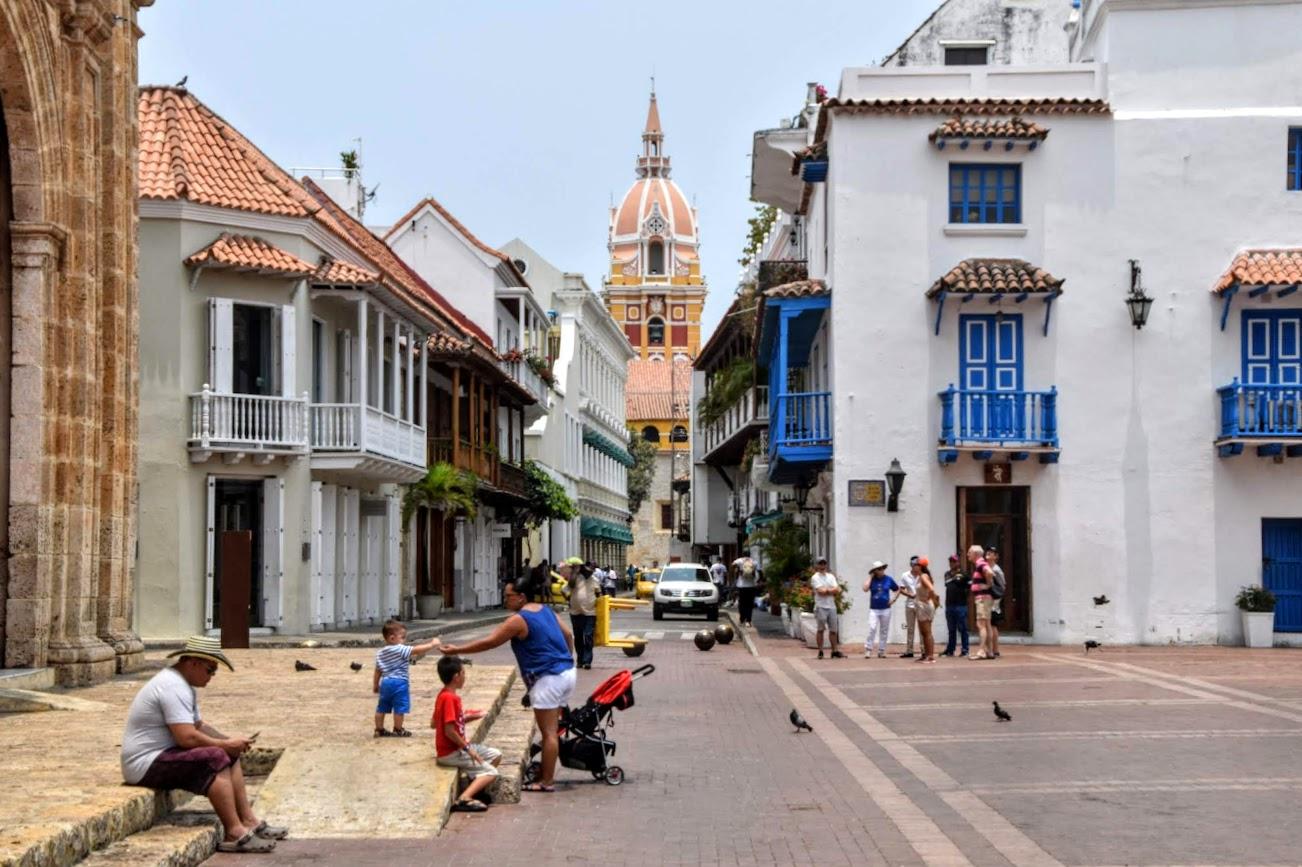 Calles de Cartagena Colombia