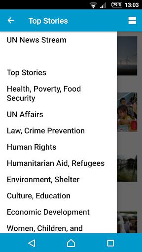 UN News Reader  screenshots 2