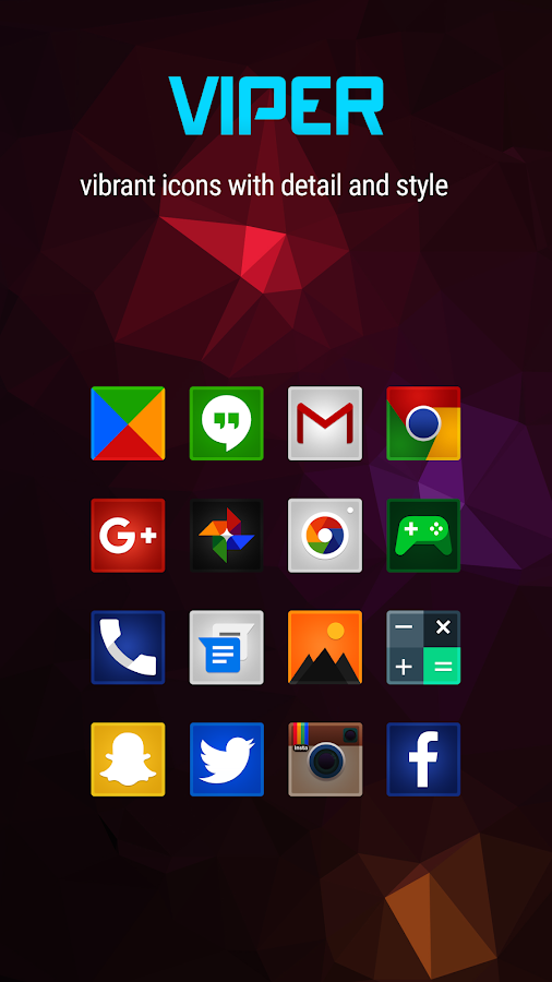 Viper Icon Pack- screenshot