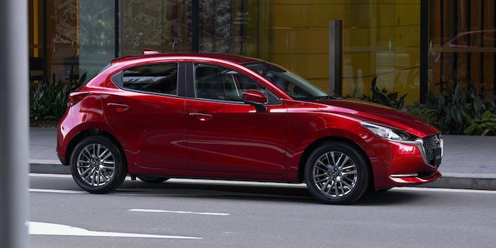 New Mazda 2 Minorchange ที่หลายคนต่างเฝ้ารอข้อเสนอดี ๆ จากค่ายภายในงาน
