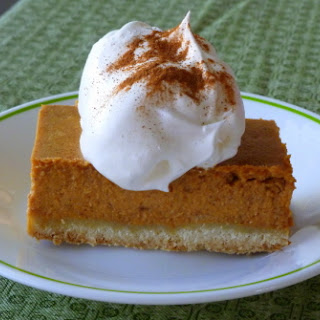 "Pumpkin ""Pie"" with a Shortbread Crust"