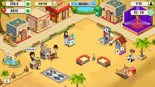 Resort Tycoon – Hotel Simulation MOD APK 9.3 [Unlimited Gems] 6