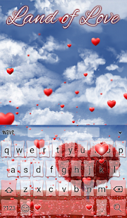 Land of Love Animated Keyboard- screenshot thumbnail