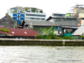 Photo: Apparently there are still some cheap accomodations along the river.