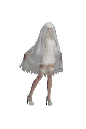 Dräkt, Kort spökklänning