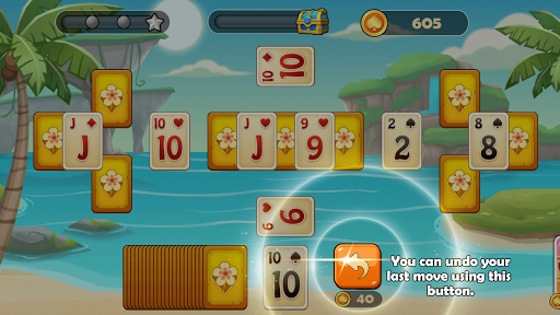 Solitaire Tripeaks screenshot 4