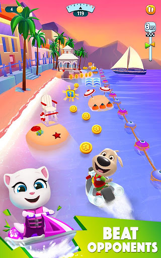 Talking Tom Jetski 2 - screenshot
