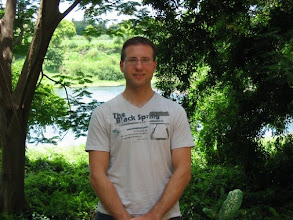Photo: Chris Aniszczyk with traditional PDE leafy background
