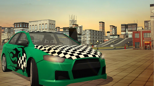 Free Flying Racing Car Driving 1.1 screenshots 12