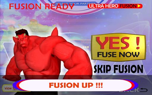 Ultra Hero Fusion : Superhero Ultra Man Battle 1.0.1 screenshots 12