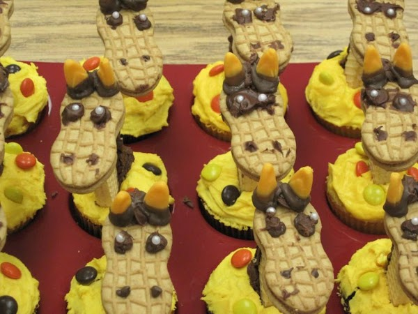Giraffe Cupcakes Recipe