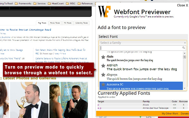 Webfont Previewer