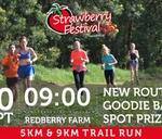 Strawberry Festival Presented by Ola 9 & 5km Trail Run : Redberry Farm